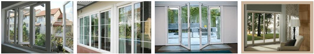 Mẫu cửa nhựa cao cấp đẹp - cửa nhựa uPVC Greenline - DAG