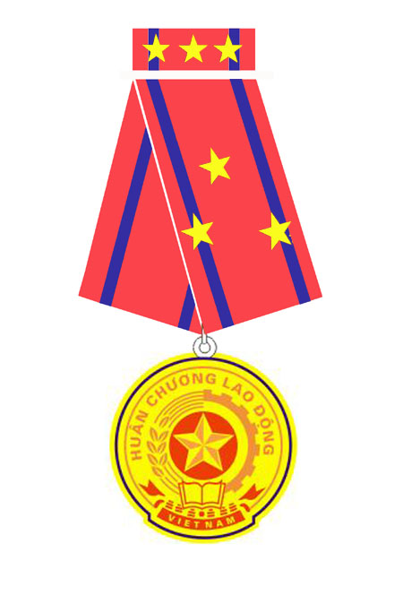 DAG received the Third Class Labor Medal