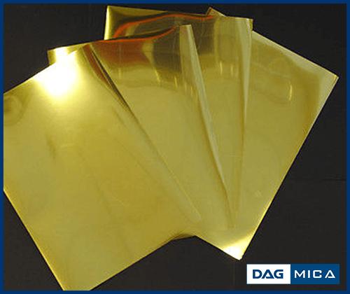 MIca gương - Mica gương vàng DAG