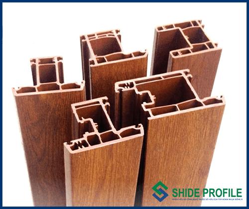 Shide Profile Mầu và Vân gỗ