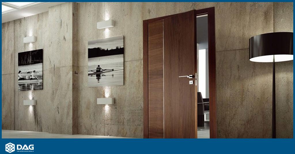 cửa nhựa gỗ composite thông phòng dag - tập đoàn nhựa đông á - smartwood composite