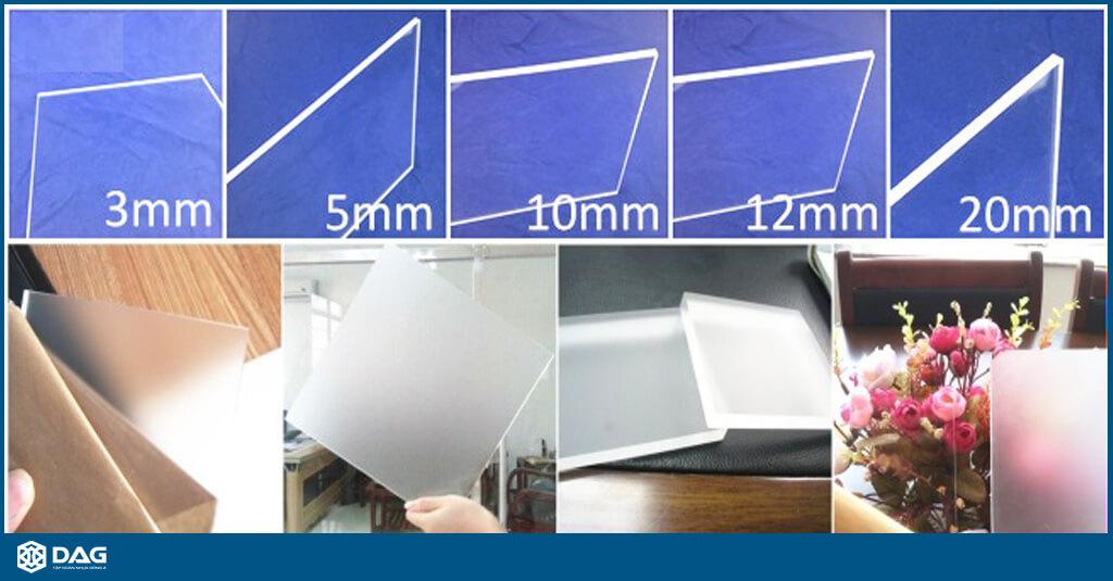 tấm nhựa mica-mica trong - mica màu - mica dag - tập đoàn nhựa đông á