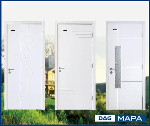 cửa thông phòng nhựa gỗ composite - WPC - smartwood dag tap doan nhua dong a