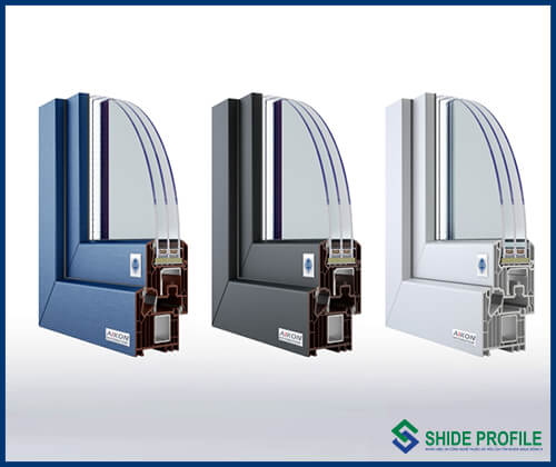 Shide profile uPVC