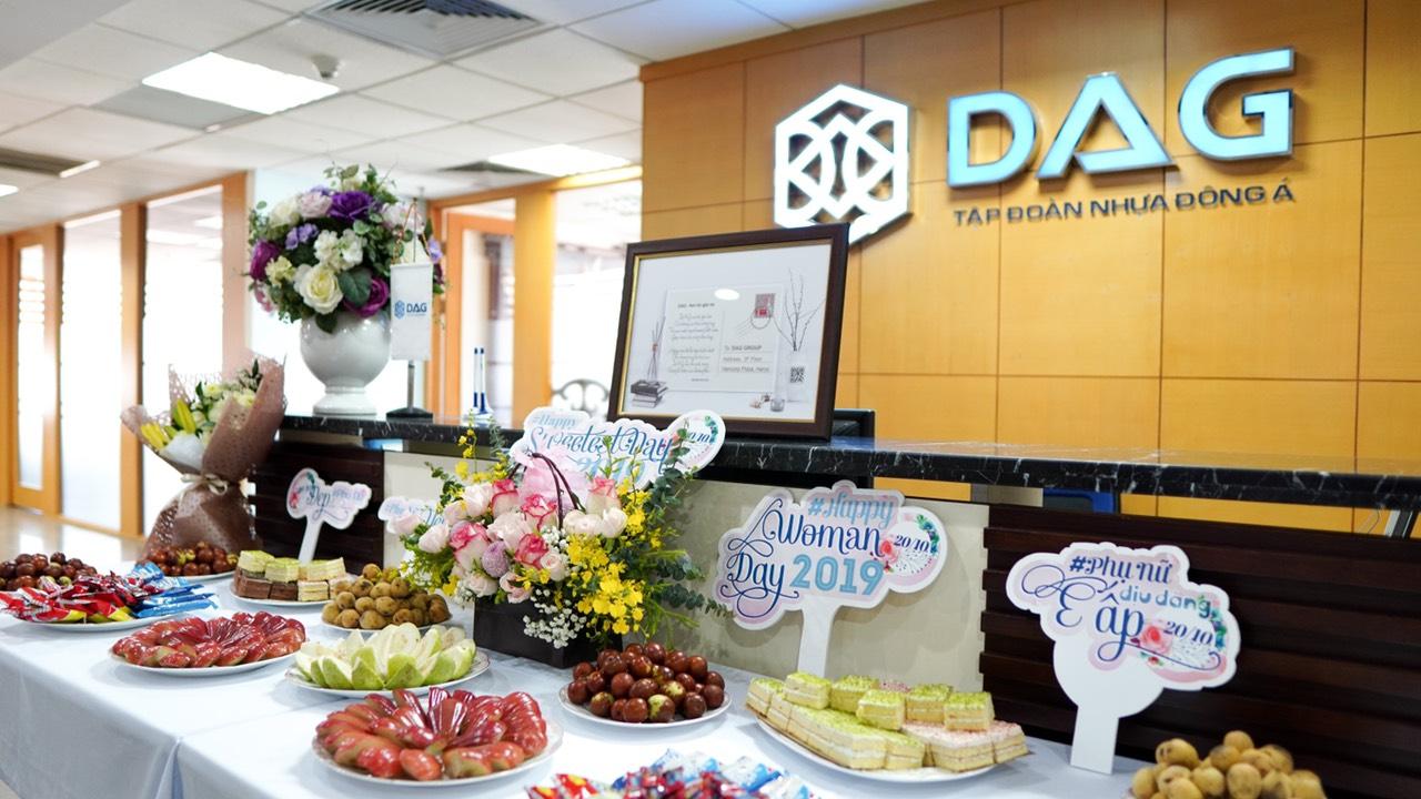 Tập Đoàn Nhựa Đông Á chúc mừng ngày 20 tháng 10