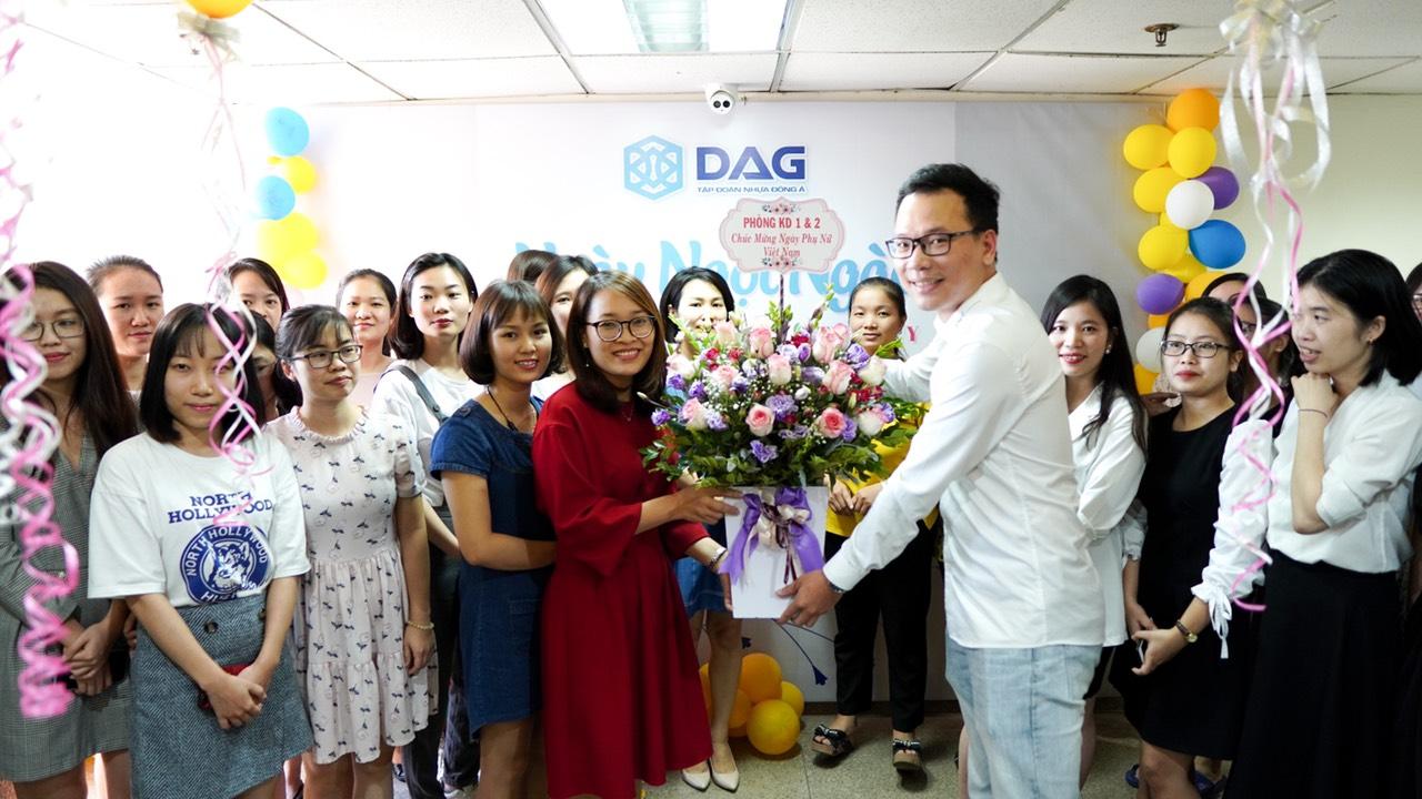 Các hoạt động nhân ngày 20/10 đã khép lại trong niềm vui, hân hoan, phấn khởi của toàn thể CBCNV và của các chị em DAG.