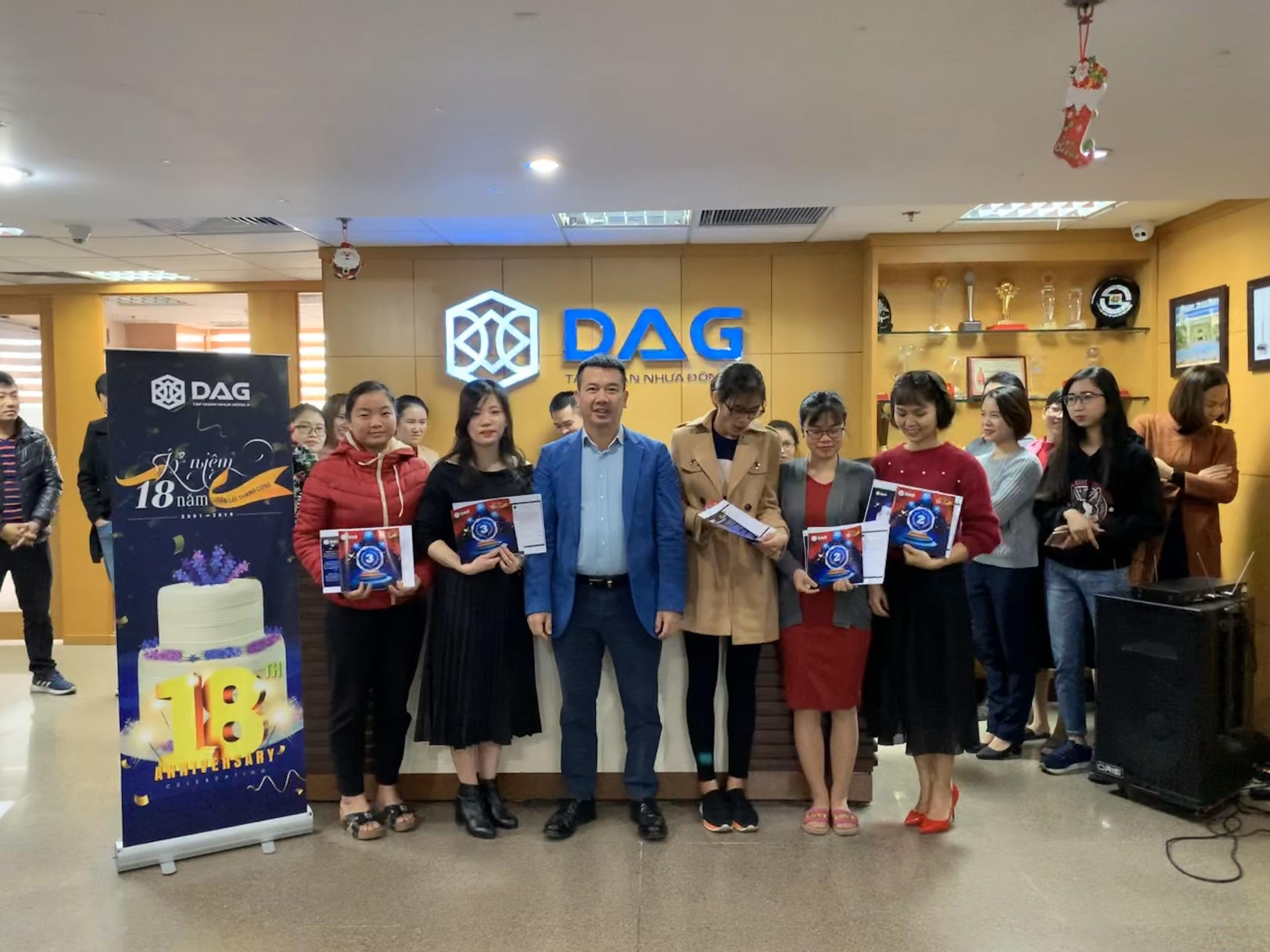 Những người chiến thắng cuộc thi Tình Yêu Với DAG
