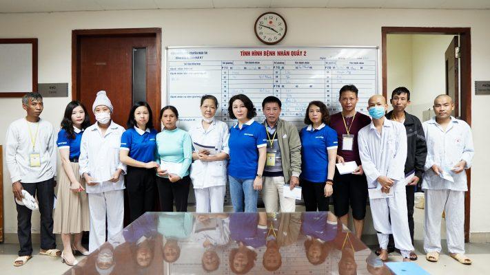 DAG thiện nguyện tại viện huyết học truyền máu trung ương