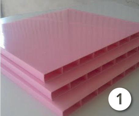 Thành phần cấu tạo tấm tủ nhựa tấm nội thất pvc 2 lớp