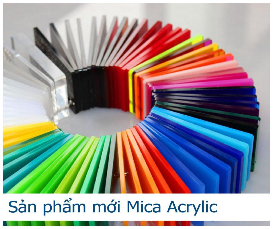 Dự Án - Sản Phẩm Mới nhựa Đông Á tấm mica acrylic
