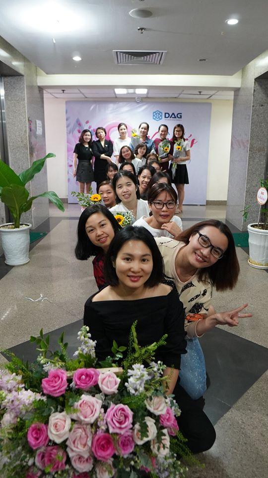 DAG tổ chức mồng 8 tháng 3 cho nhân viên