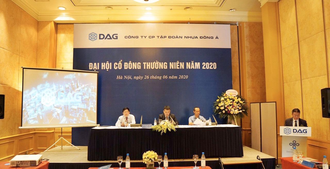 ĐHĐCĐ thường niên năm 2020 của DAG