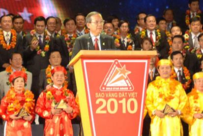 DAG đạt giải Sao Vàng Đất Việt