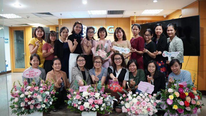 DAG gửi những lời chúc tốt đẹp nhất đến các nữ CBCNV