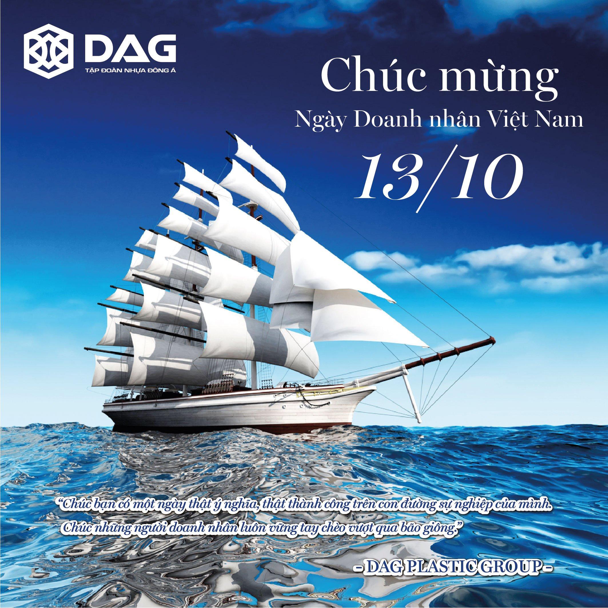 DAG chúc mừng ngày Doanh Nhân Việt Nam