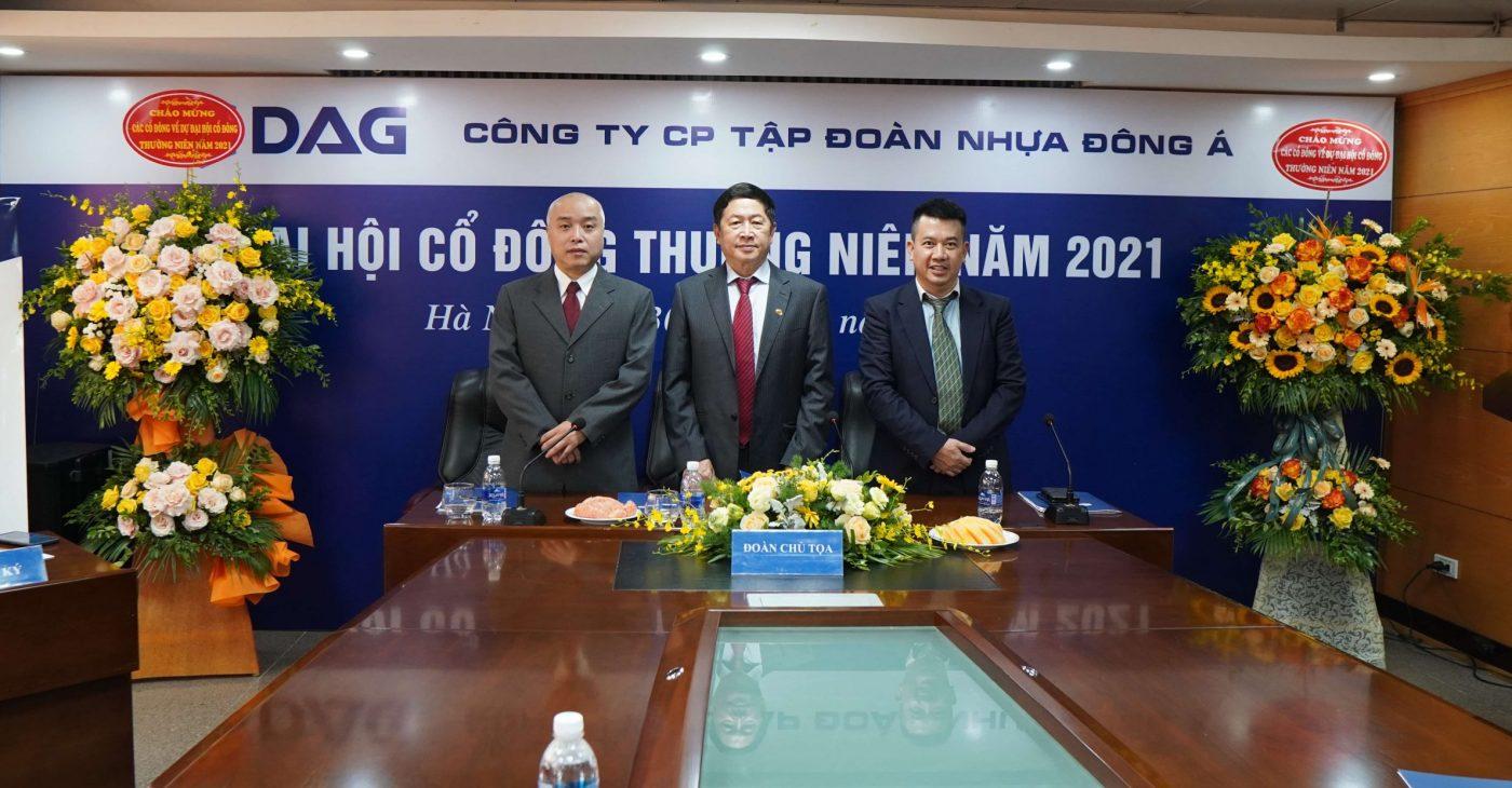 DAG tổ chức thành công Đại hội đồng cổ đông thường niên năm 2021