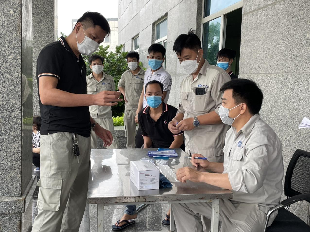 DAG thực hiện đầy đủ các biện pháp phòng chống dịch COVID-19